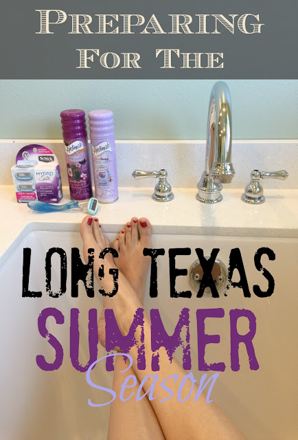Warm weather (ok, hot hot hot!) is coming! Are you ready for summer? Here's how I'm getting summer-ready