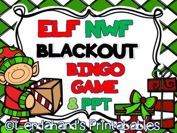ELFKIN Blackout Bingo and MatchingPower Point