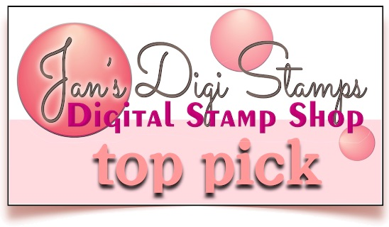 Top 3 Winner at Jan's Digi Stamps Challenge