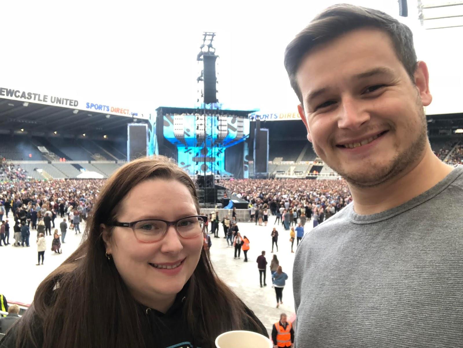 Ed Sheeran, Newcastle, St James Park, Live, Concert