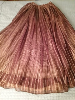 EK original 1850s dress skirt.