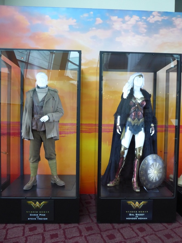 Steve Trevor Wonder Woman movie costumes
