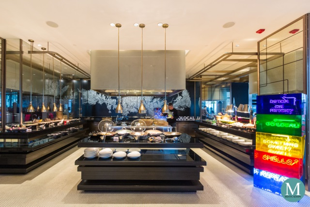 Buffet Restaurant at W Hotel Suzhou