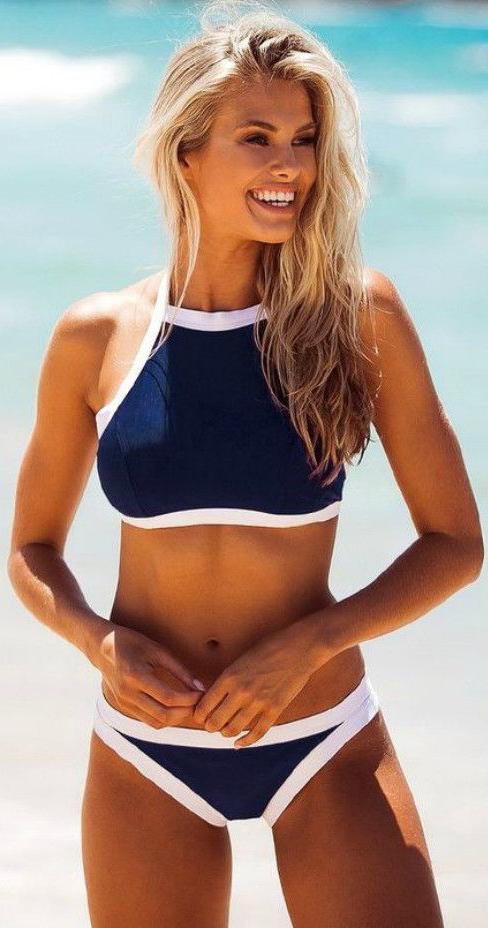 #Swimwear Bikini Teen Cute #Summer
