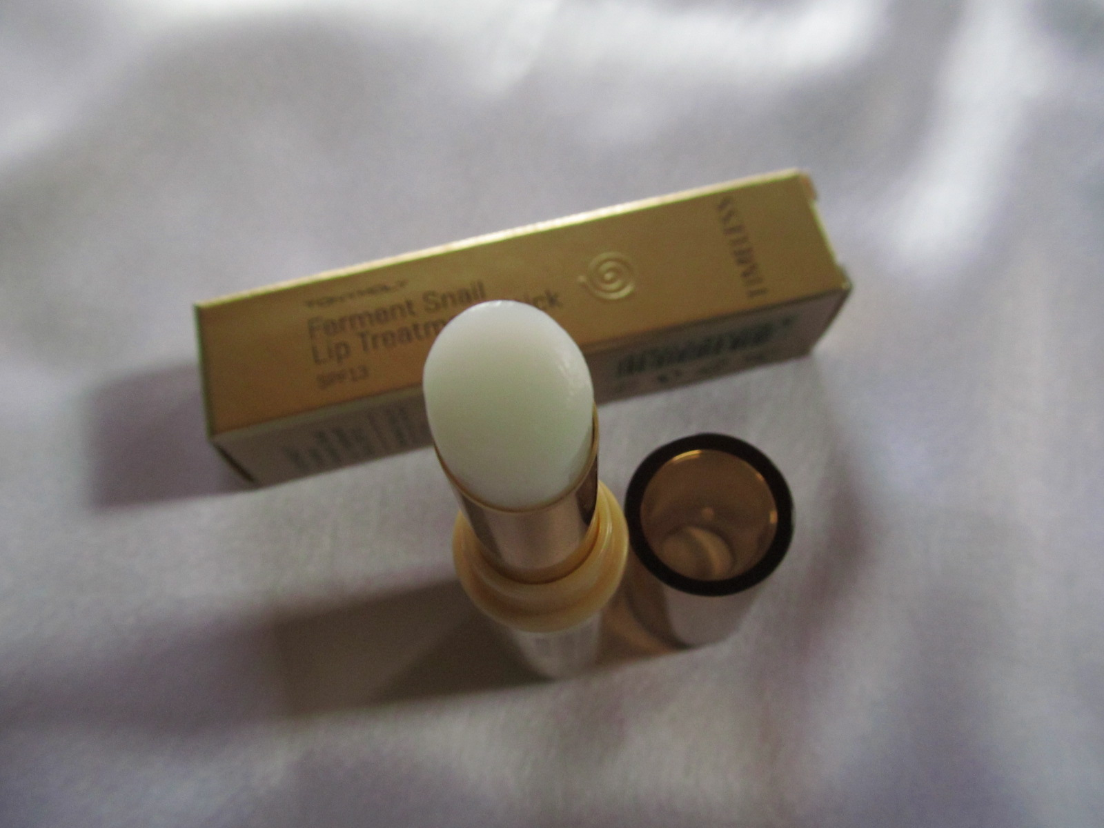 Tonymoly Timeless Ferment Snail Lip Treatment Stick Review