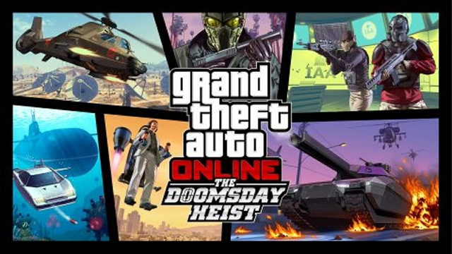 GTA 5 Doomsday Heist
