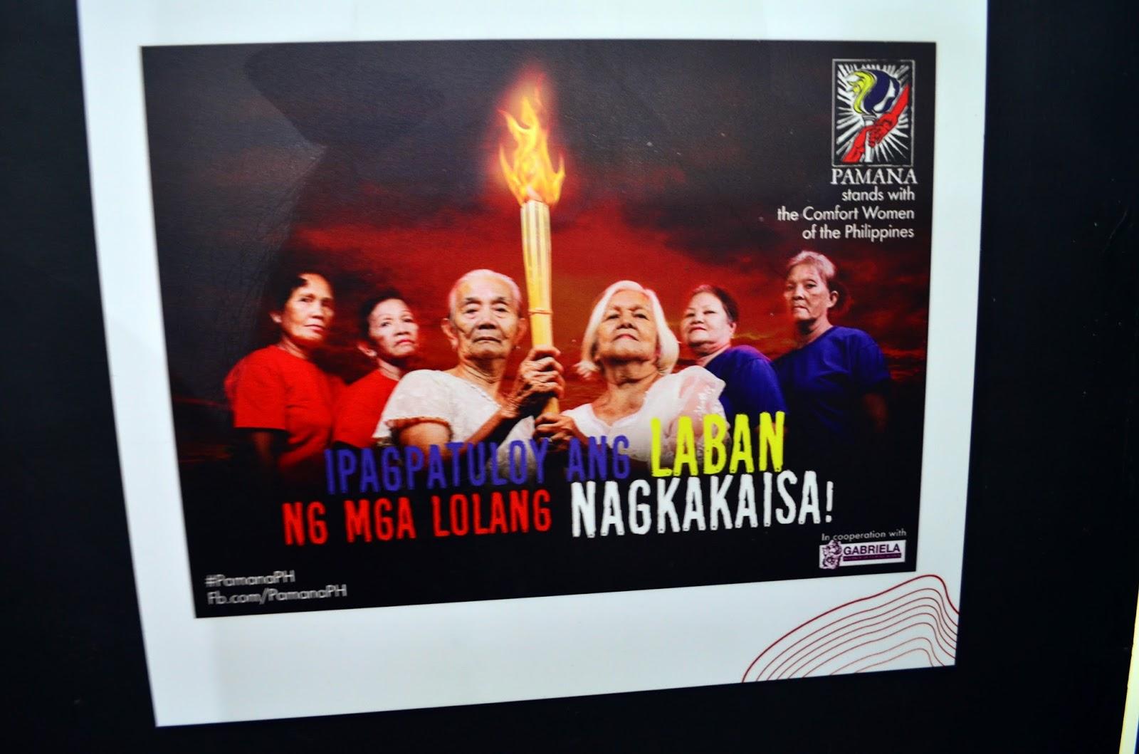 comfort women poster sample