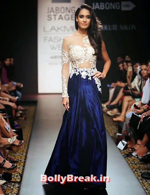 Lisa Haydon in a Ridhi Mehra creation., Lisa Haydon Latest Hot HD Images