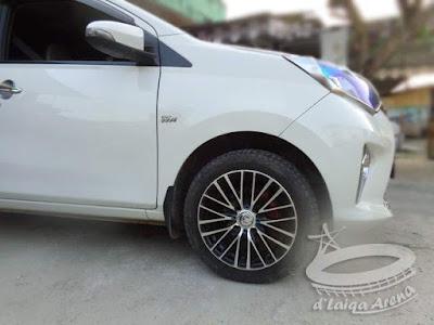 Tekanan Angin Ban Toyota Calya