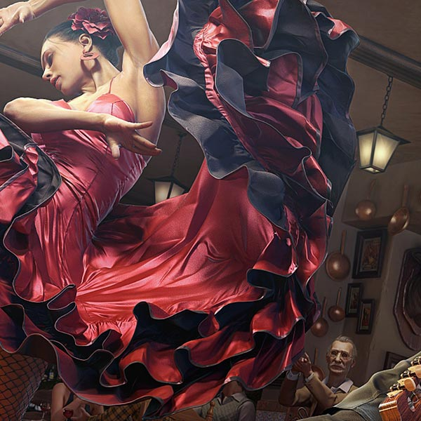 Flamenco Dance Wallpaper Engine