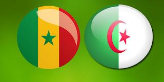 Senegal - Cezayir maçını canlı izle