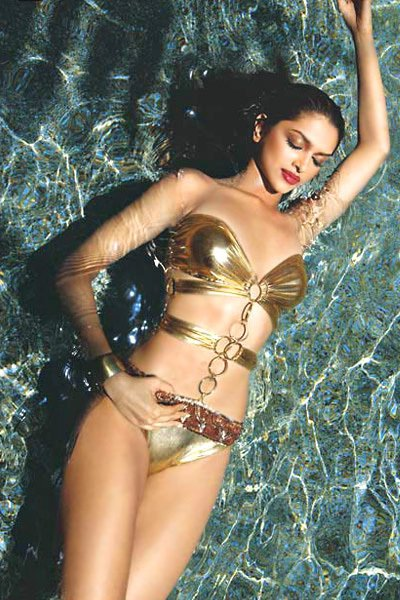 New Celebs Wallpapers: Deepika Padukone Bikini Wallpapers