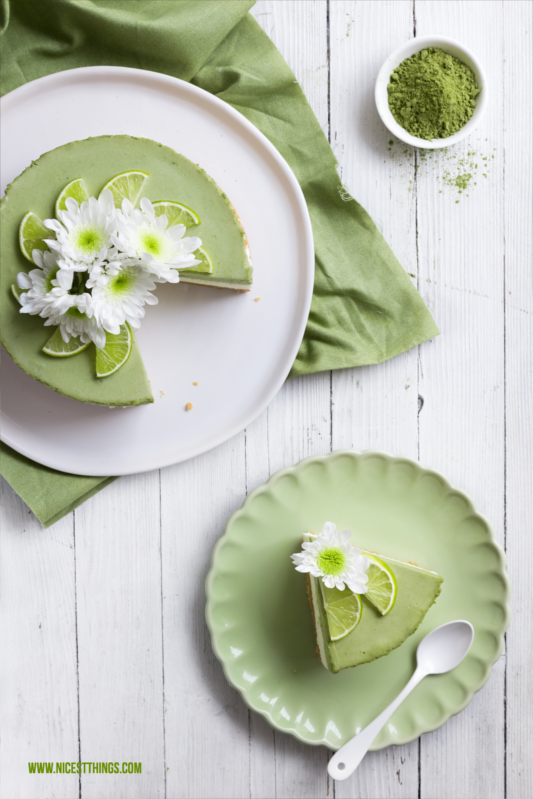 Matcha Lime Cheesecake