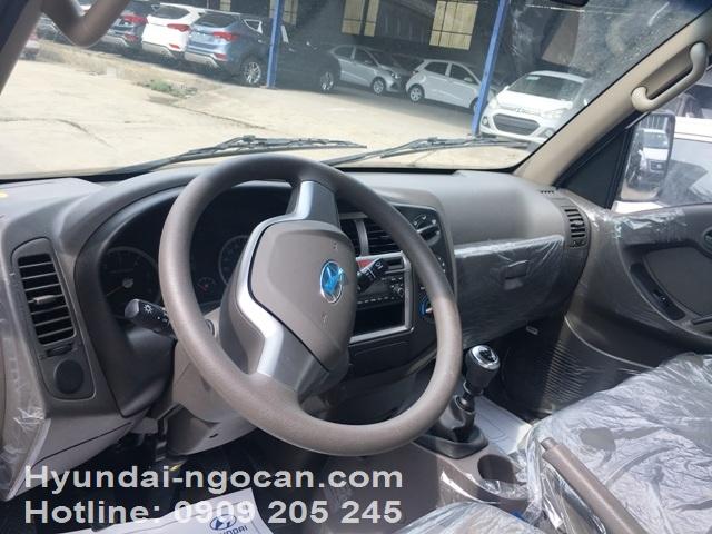 hyundai 1 tấn h100 Xe tải Hyundai 1 tấn H100 thùng lửng màu xanh IMG 3003