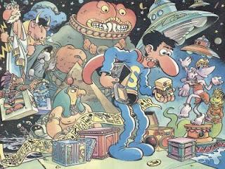 Historia en comic: Superlópez y la caja de Pandora, de Jan