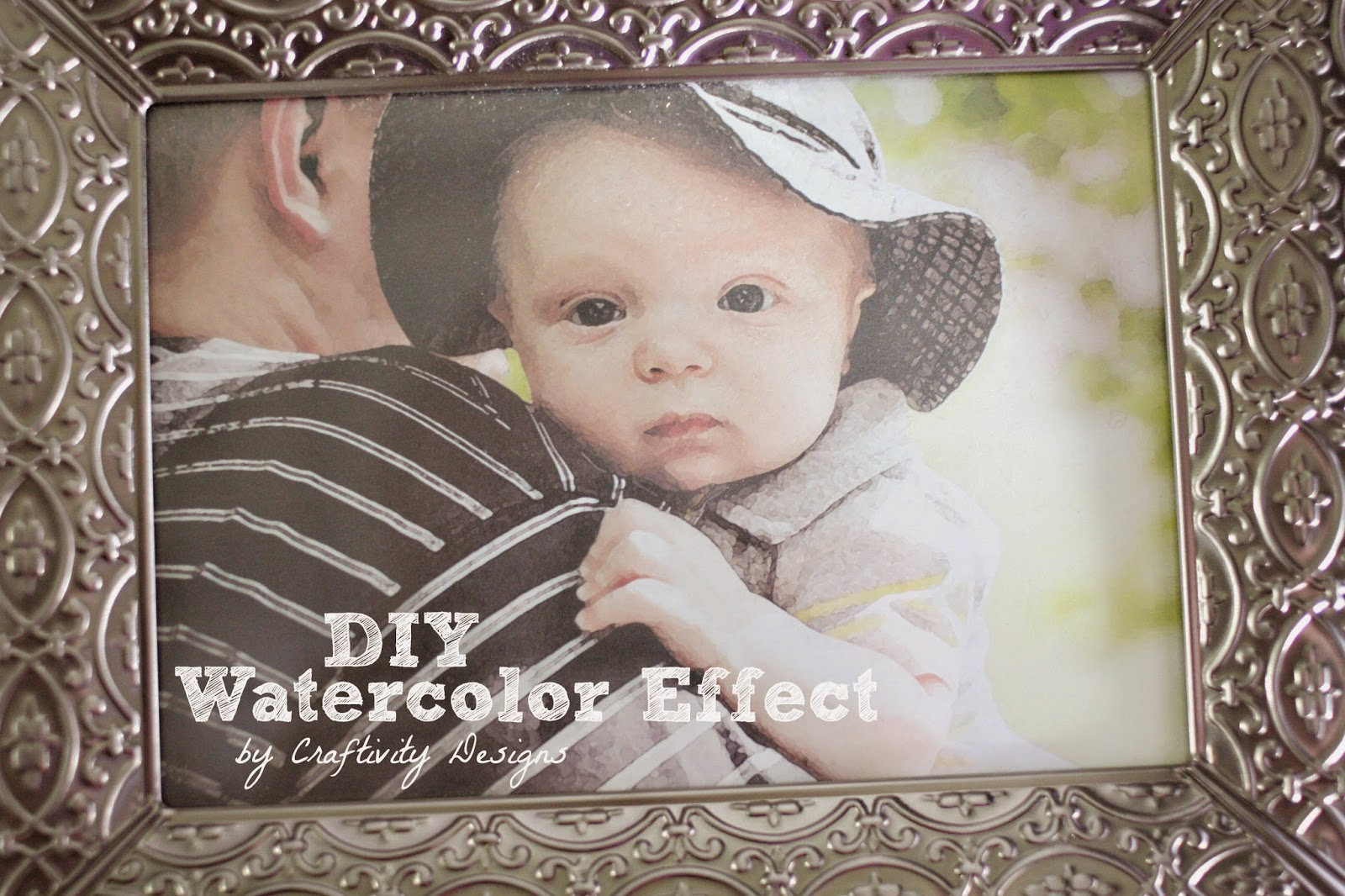 DIY Watercolor Effect -- easy to do with simple tools -- Craftivity Designs