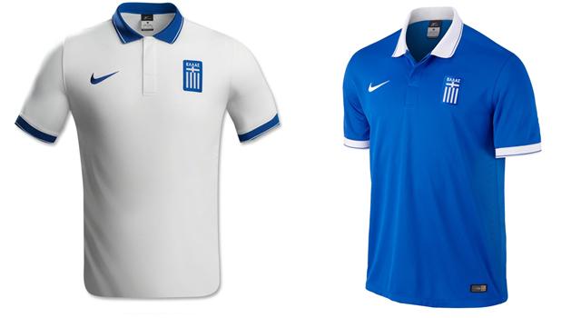 Camisetas selección Grecia Mundial 2014