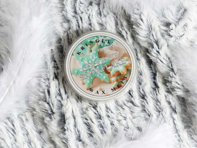 Avis Coconut Snowflake de Kringle Candle - Mystery Box, Box Bougies Parfumées de La Note de Coeur