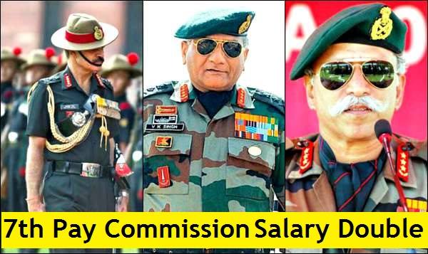 7th Pay Commission: Indian Armed Forces Salary more than doubled