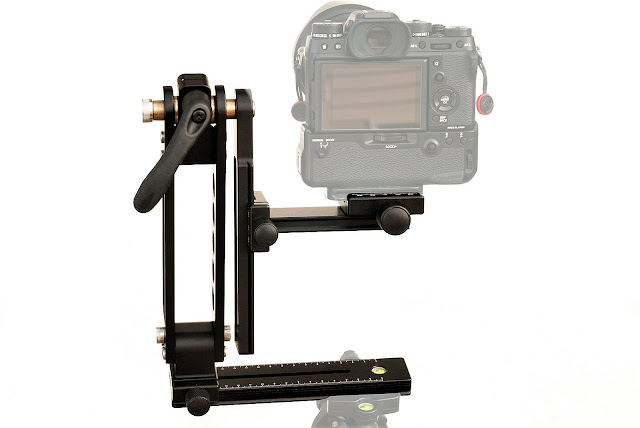 Hejnar Photo Modular Gimbal Head w/ Camera