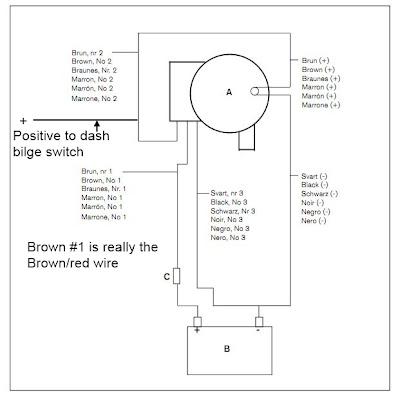 The Marine Installer's Rant: Johnson bilge pump wiring