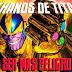 Thanos de Titán: el ser más peligroso del universo Marvel.
