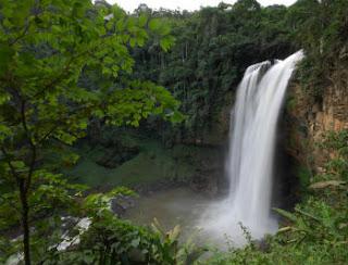 Cachoeira Engenheiro Reeve  em Matilde no Espírito Santo