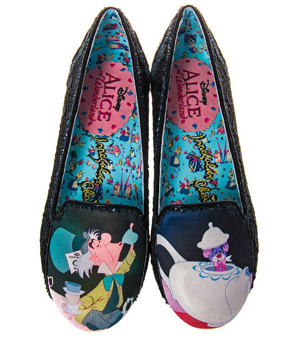 Irregular Choice Disney Alice In Wonderland little more tea?
