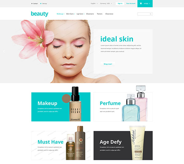 Free WordPress PrestaShop, WooCommerce, Joomla, and Magento Theme and Templates