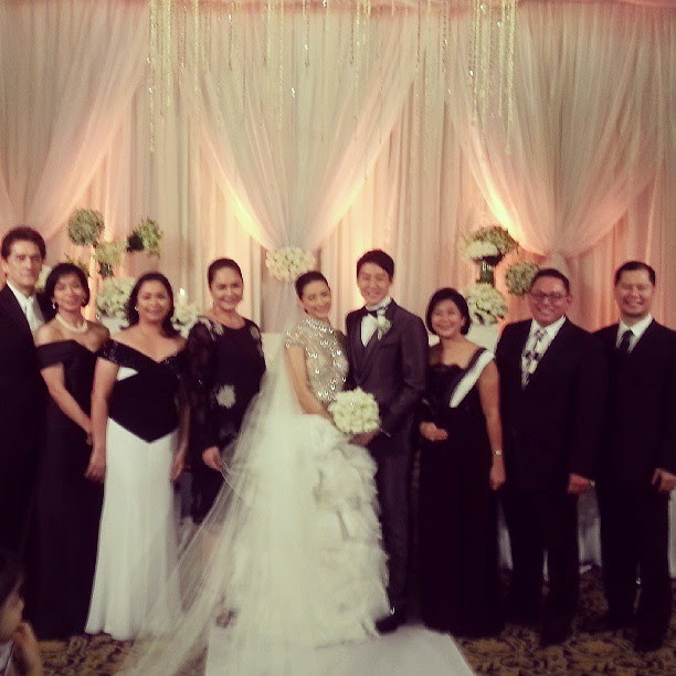 The Newly Weds With Abs Cbn Execs