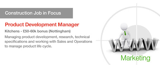 Job in Focus for September - Product Development Manager for Kitchen Products - £60k