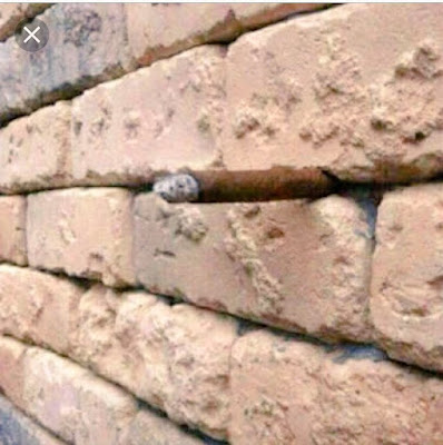 Optical Illusion in Wall