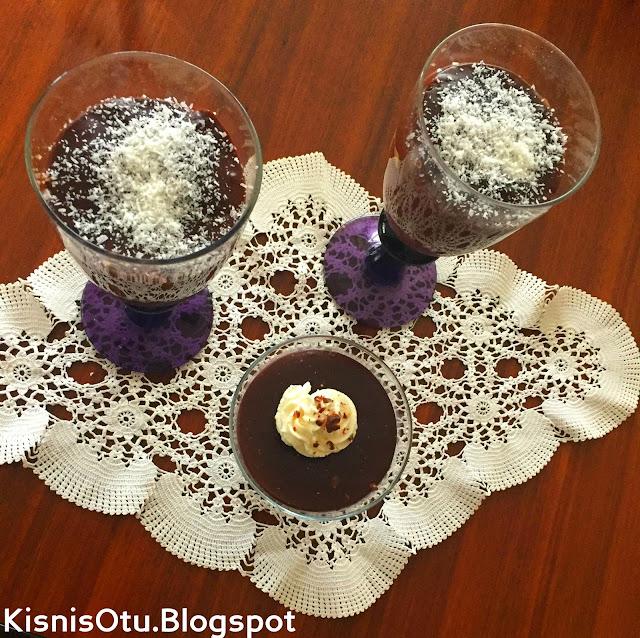 Kakaolu puding, tatlı tarifi, Puding Tarifi, Kakao, Puding, Sütlü Tatlı