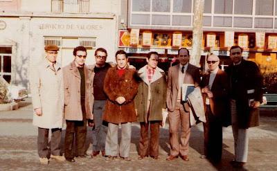 Equipo del Foment Martinenc con Ribera en sus filas en Vic en 1974