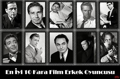 En İyi 10 Kara Film Aktörü