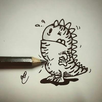 desenho com marcador