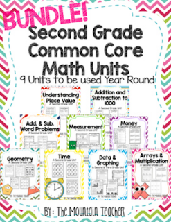 https://www.teacherspayteachers.com/Product/Second-Grade-Common-Core-Math-Units-Year-Bundle-2427946