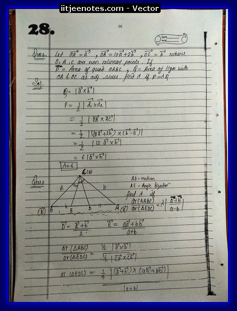 Vector Class 11 problems3