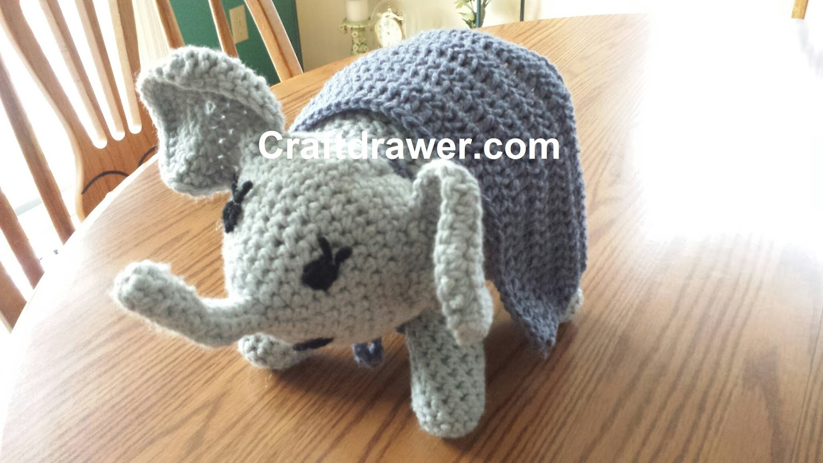 Craftdrawer crafts crochet an elephant pattern my journey to this pattern is much easier but again working with a free pattern i think there are some errors in the pattern and i am modifying it a bit bankloansurffo Images