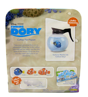 finding dory zuru toys coffee pot playset