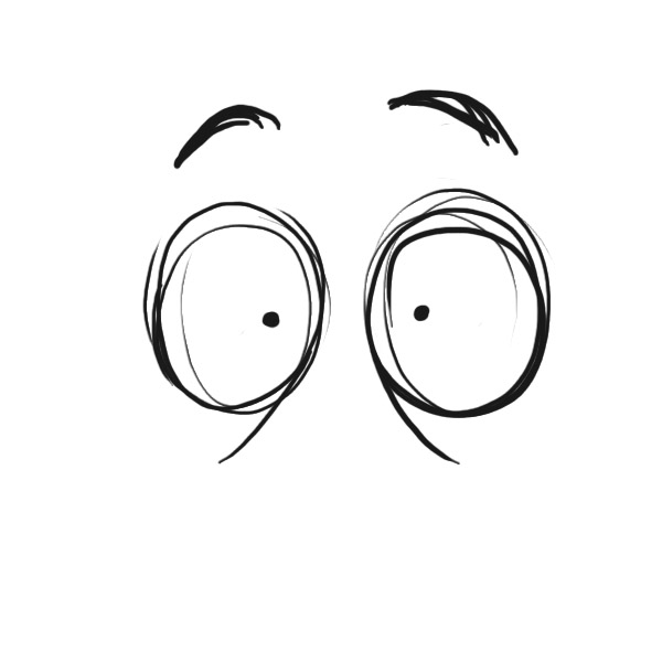 The gallery for --> Cartoon Eyes Looking At You