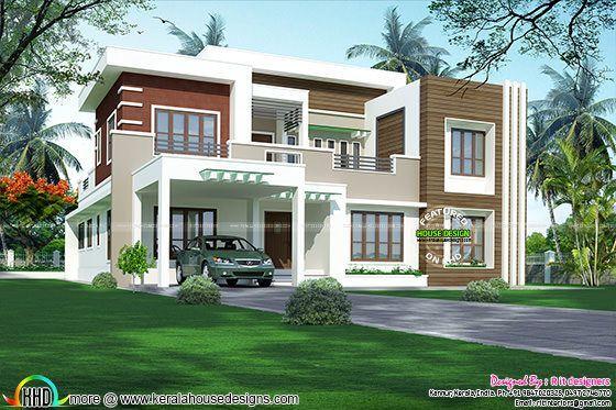 4 bedroom modern house 3262 sq-ft