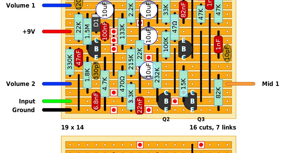 fender stratocaster tbx wiring diagram craftsman lt2000 guitar fx layouts: eric clapton 25db mid boost