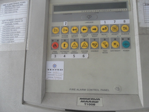 General Service Fire Alarm System Minerva T1008