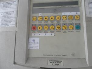 Fire Alarm Control Panel, Minerva, T1008, 230VAC, 50Hz, 2A Class 1