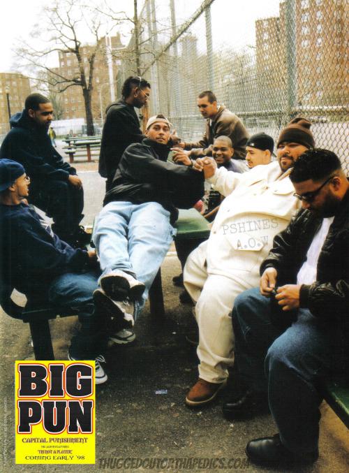 Big Pun Discography : discography, Retrospective:, Pun's, Capital, Punishment, Album