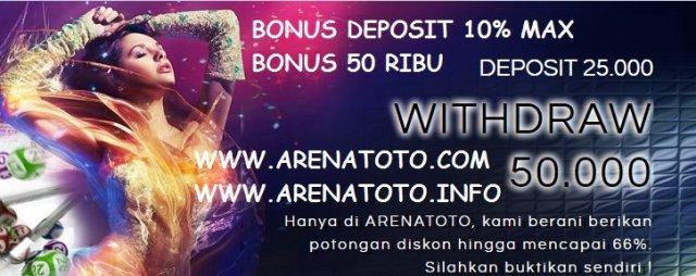 Agen Judi Online Terlaris di Indonesia, ArenaToto.com