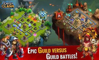 Castle Clash Mod Apk v1.4.42 (Unlimited Gems + Money)
