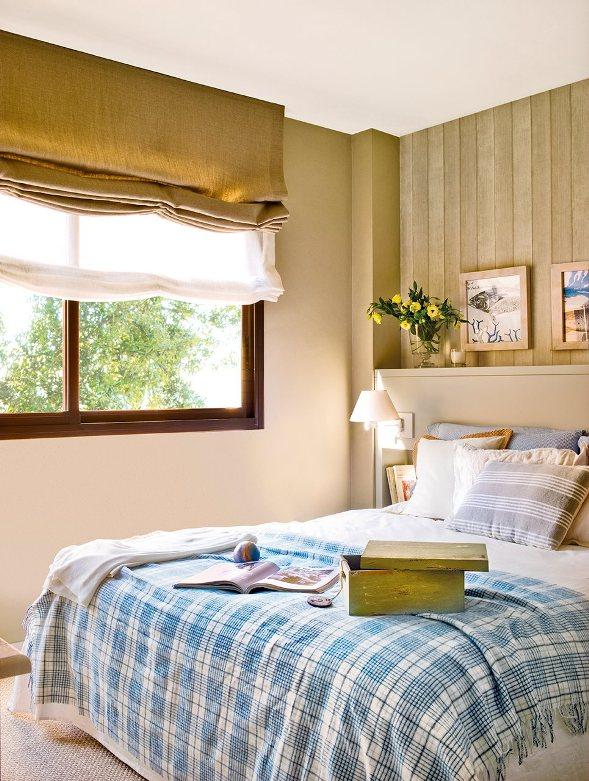 Un piso con un interior inspirado en los colores de la playa chicanddeco