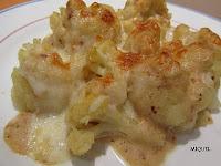 Coliflor con Bechamel de frutos secos